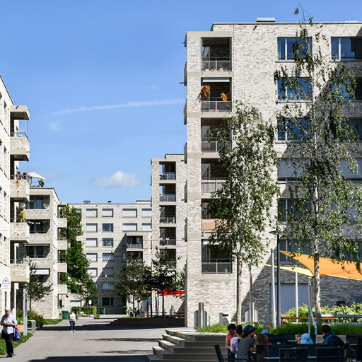 Siedlung Mattenhof, Zürich  (204767)